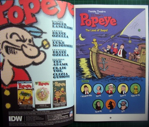 popeye numero 1 original americano