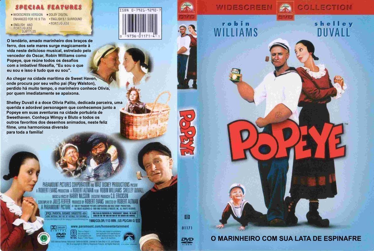 Popeye - O Filme (popeye) - R$ 25,00 em Mercado Livre