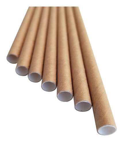 popote ancho malteada biodegradable papel no tapioca