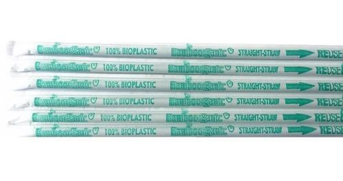 popotes biodegradables ecologicos 9,000 piezas 26 cms largo