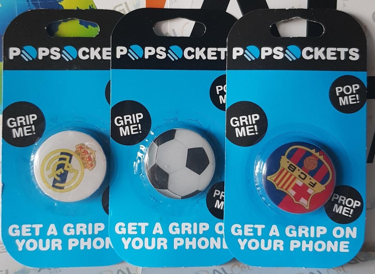Popsocket Selfie Celulares Futbol Real Madrid Barcelona - Bs. 280 5642ee4ebbf