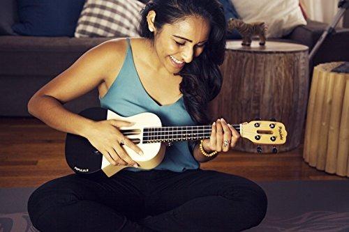 popuband populele smart ukulele - led fretboard, conexión bl
