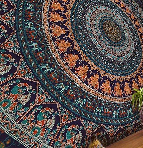 popular artesanías tapiz tapices hippie mandala bohemio