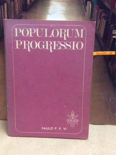 populorum progressio. encíclica de paulo vi