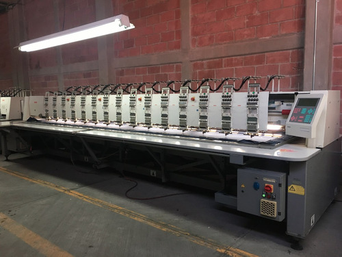 por cierre de fabrica, venta de bordadora pfaff 15 cabezas