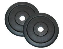 por discos mancuernas pesas