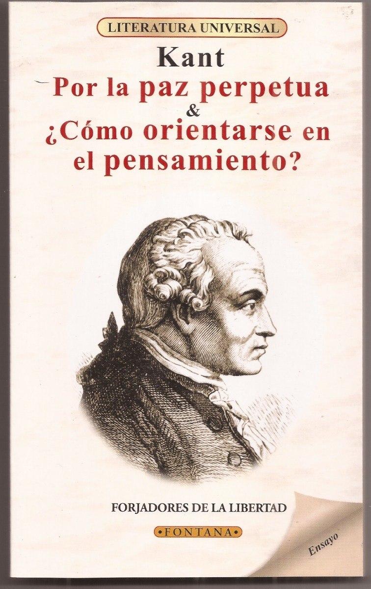 Por La Paz Perpetua Immanuel Kant Libro Nuevo Cargando Zoom