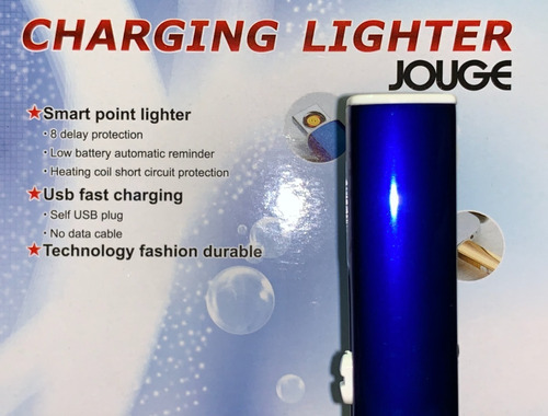 por mayor 10u encendedor electronico usb recargable elegante
