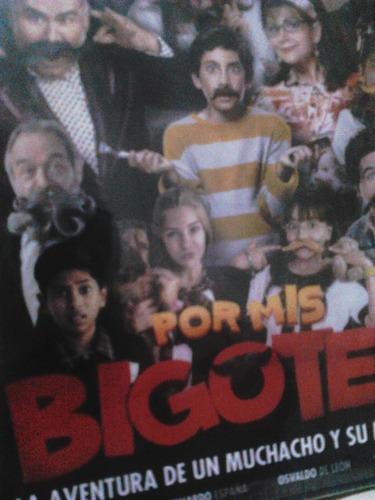 por mis bigotes. dvd original envío gratis $ peli