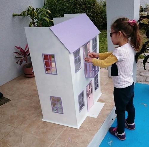 por navidad hermosas casas de muñecas