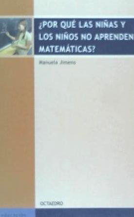 por qué las niñas y los niños no aprenden matemáticas?(libro