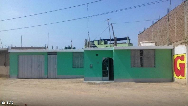 por salud vendo casa huerta en ica, 400m2, us$ 72,000