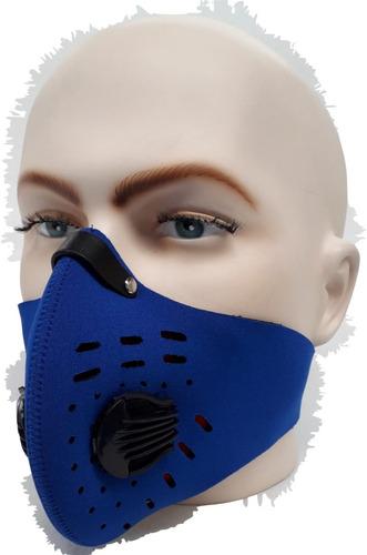 por tu salud - mascara antipolución filtro de carbono activo