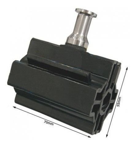 porca acionadora preta 6e c/imã motor basculante nano rossi