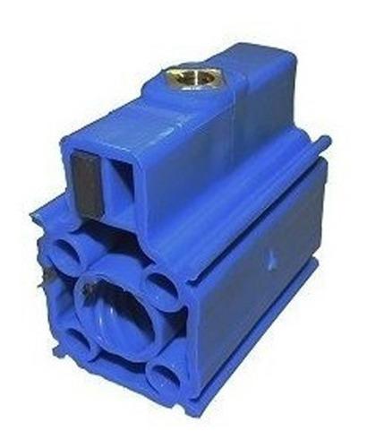 porca acionadora rossi azul motor basculante 9 entradas