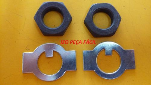 porca manga eixo fusca 5 furos 1300 -/10-74 18x1,50mm (par)