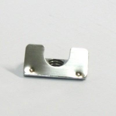 porca meia (1/2) cana para perfil de alumínio base 20/30/40