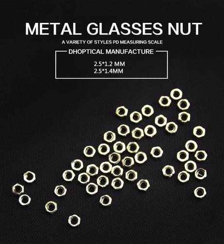 porca para óculos e armações de grau - 50 unidades