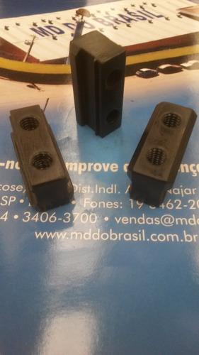 porca t para placa systec p 170 com 3 peças