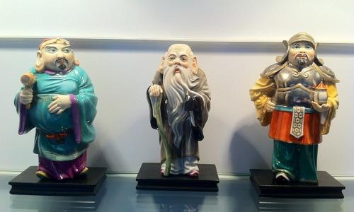 porcelana algora española 7 deidades
