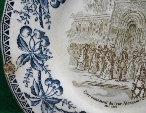 porcelana antiga prato