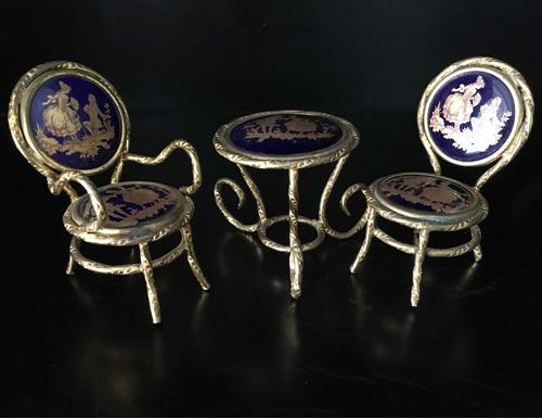 porcelana antigua limoges piezas muebles