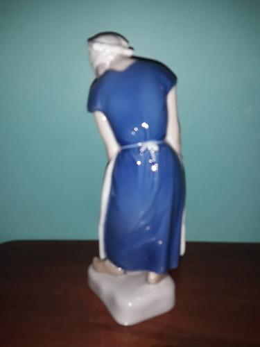 porcelana b&g denmark  mujer
