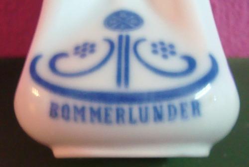 porcelana botella de licor bommerlunder