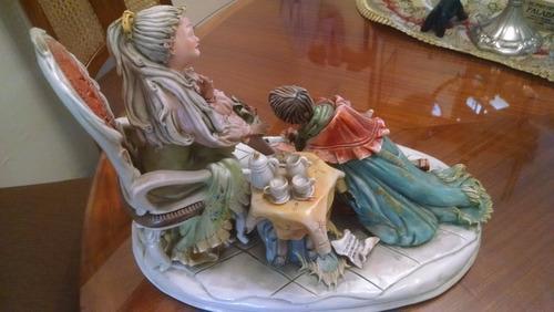 porcelana de coleccion capo di monte - la cenicienta
