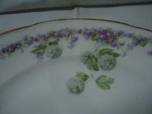 porcelana decô pratos