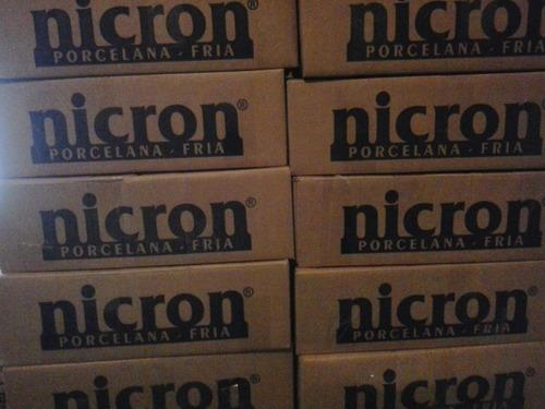 porcelana fria nicron x 10 kg. no cobramos embalaje.