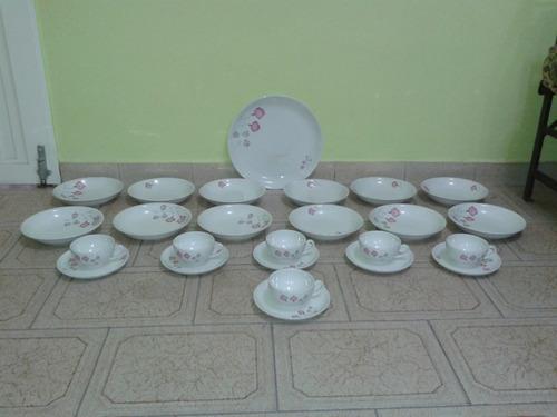 porcelana hartford - hondos, postre, juego cafe y té 1ª mano
