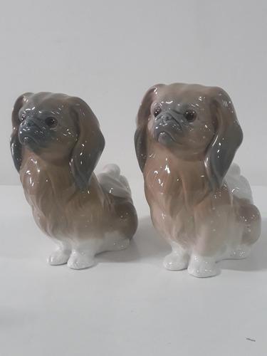 porcelana lladro bellos perros