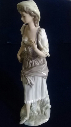 porcelana lladro ceramica con detalle