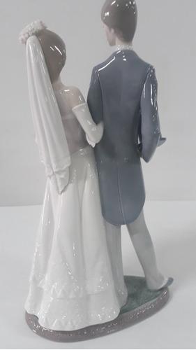 porcelana lladro pareja de novios