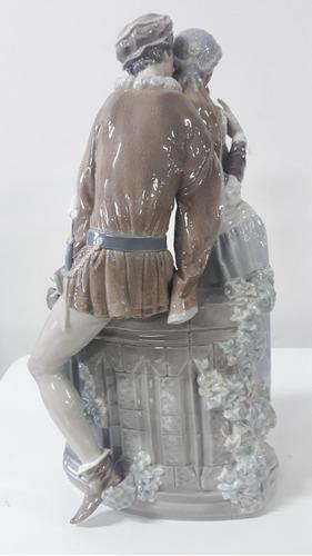 porcelana lladro romeo y julieta grande
