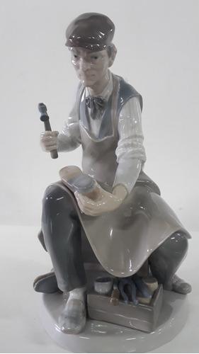 porcelana lladro zapatero