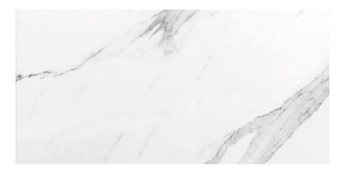 porcelanato 60x120 marmol carrara pulido blanco tau 1era