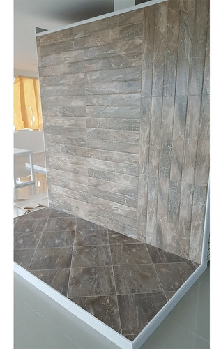 porcelanato europeo 40 x 40 fossil wood gold