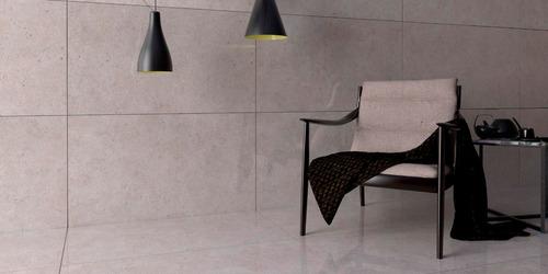 porcelanato gris villagres rambla 63x108 simil cemento