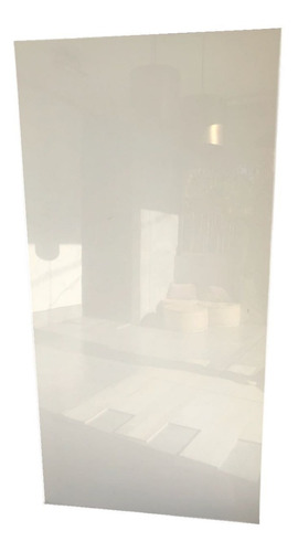 porcelanato lámina blanco pleno pulido 80x160 1ra rect.
