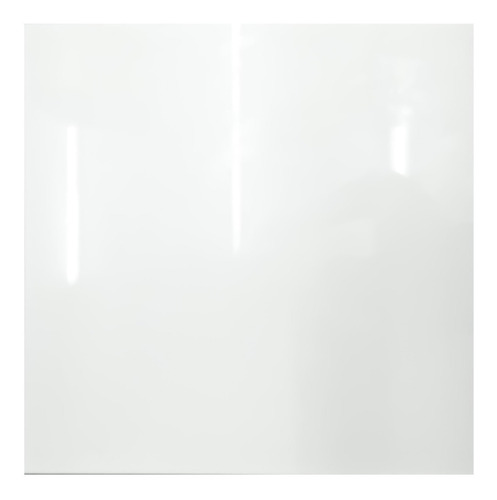 porcelanato lámina blanco pleno pulido 80x80 1ra rect.