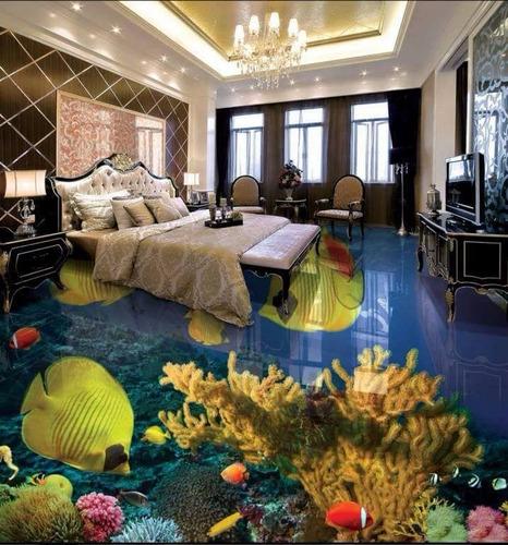 porcelanato liquido 3d - tenha um piso exclusivo
