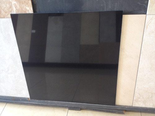 porcelanato negro brillante pulido 60x60