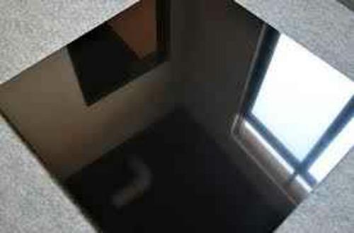 porcelanato negro doble carga alto brillo