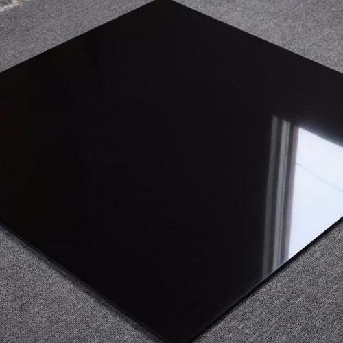 porcelanato negro esmaltado super black 60x60 caja 1.44m2