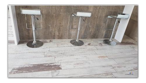 porcelanato rectificado 20x120 simil madera brushed white
