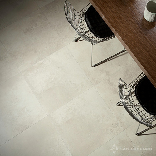 porcelanato rectificado bauhaus ivory cemento gris 1era 58x58 san lorenzo