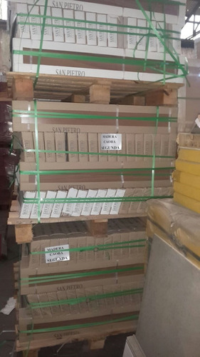 porcelanato san pietro madera 105x17 caoba -2da rectificado
