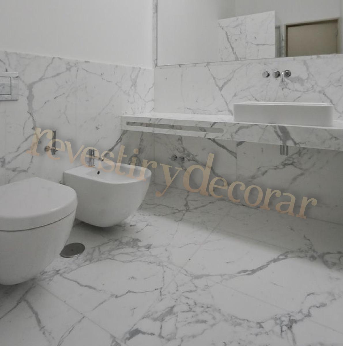 Suelo porcelanico imitacion marmol latest azulejo for Marmol de carrara limpieza